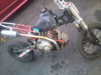 125cc 4 Speed Manual Pit Bike! CHEAP!