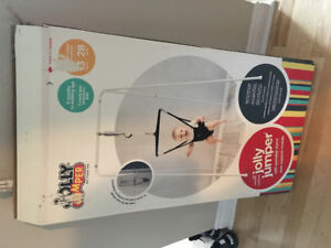 jolly jumper with frame in box