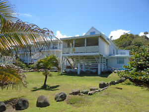 Villa plus Apt, Caribbean Beachfront Income Property For SALE!