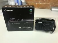 Canon G7X MkII digital camera