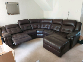 Lazy boy corner sofa