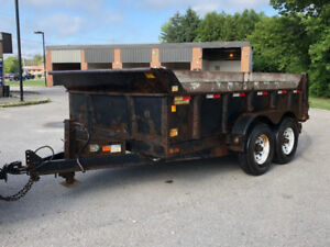 DUMP TRAILER FOR RENT - CALL ME TODAY