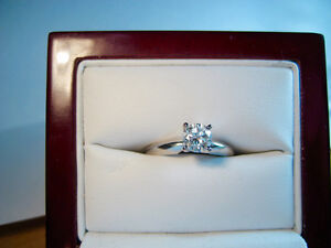 New 0.55 CT Certified SI2/H Diamond Solitaire Ring with BONUS!!!