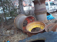 30.5x32 SKIDDER WHEELS