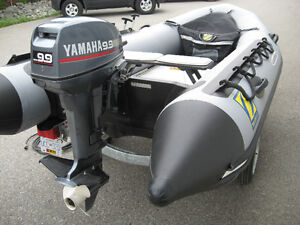 ZODIAC  INFLATABLE BOAT, MOTOR & TRAILER PACKAGE