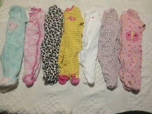 Girls 0-3 month sleepers