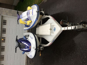 Two Yamaha PWCs For Sale
