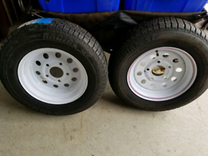 ***Conditionally SOLD****2 Trailer tires available - Never Used