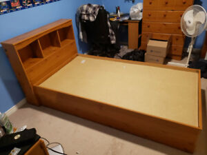 Twin bed and dresser (2 pc)