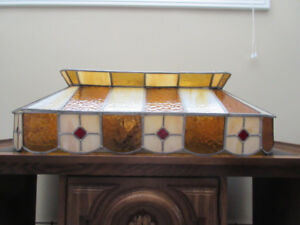 Stained Glass Light Fixture (Tiffany)
