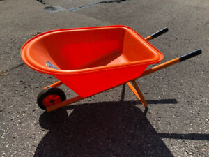 Two Children's Wheelbarrows