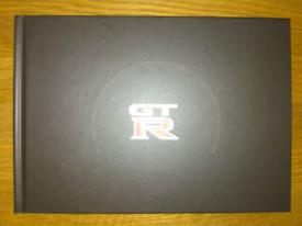 Nissan GTR launch hard back book 2009