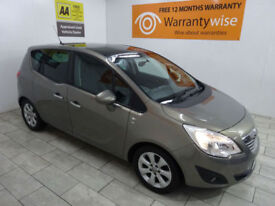 Brown Vauxhall Meriva 1.4 16v a/c SE ***FROM £121 PER MONTH***