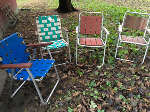 Lawn chairs $5 each or best offer