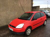 FORD FIESTA 1.2 (2004) * 74000 MILES , MOT MAY 17, WARRANTY £795