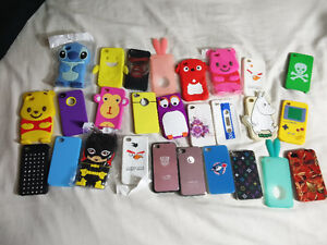 26 IPhone 4/ 4S cases. Brand new never used