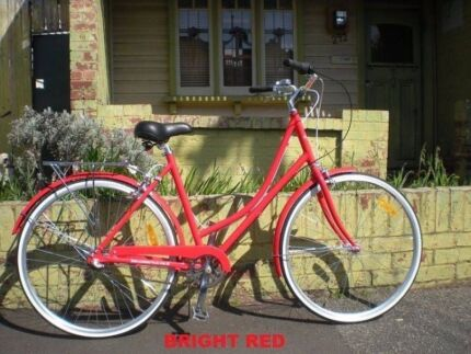 Classic Dutch Ladies Bike 3speed for $349.00 with lights and lock Brunswick Moreland Area Preview