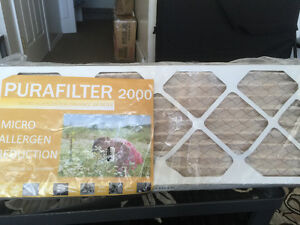 New Air Filters 10 x 24 x 1 Pack Of 4,s