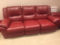 Leathers sofas in mint condition