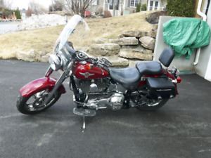 harley Davidson fat boy 2006 24500 km.