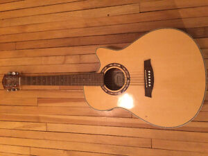Ibanez AEF18-TVS-OP-03 Acoustic/Electric Guitar