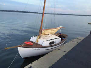 Gaff Rigged Fisher Selway Skua