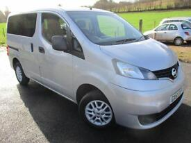 2012 NISSAN NV200 DCI SE COMBI 5 SEATER WAV SPECIALIST VEHICLE DIESEL