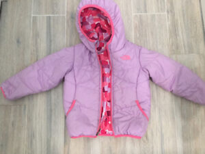 North Face Reversible Winter jacket 3T