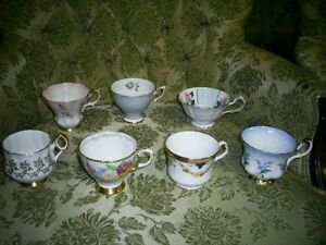 Huge Antique teapot cups saucers silver stuff collection lot