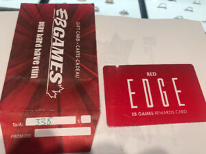 EB GAMES $338 Gift CARD