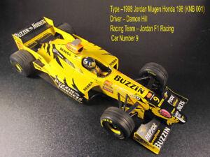 1998 F1 Jordan Mugen Honda 198 (KNB 001)