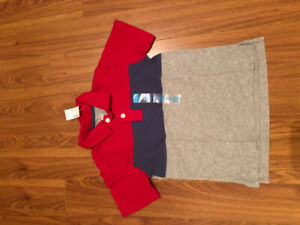 Boy 5/6 polo shirt, new with tag