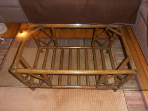 Rattan Coffee table - reduced price