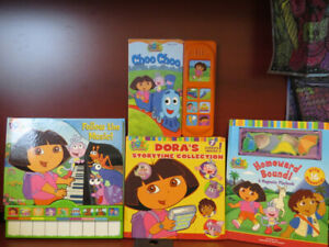 Lot of Dora Books in Excellent Condition