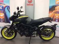 YAMAHA MT09 ABS 2018 MODEL FREE SPORTS PACK
