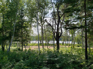 4 ACRES WITH 270 FEET ON THE SALMON RIVER NEAR CHIPMAN, NB