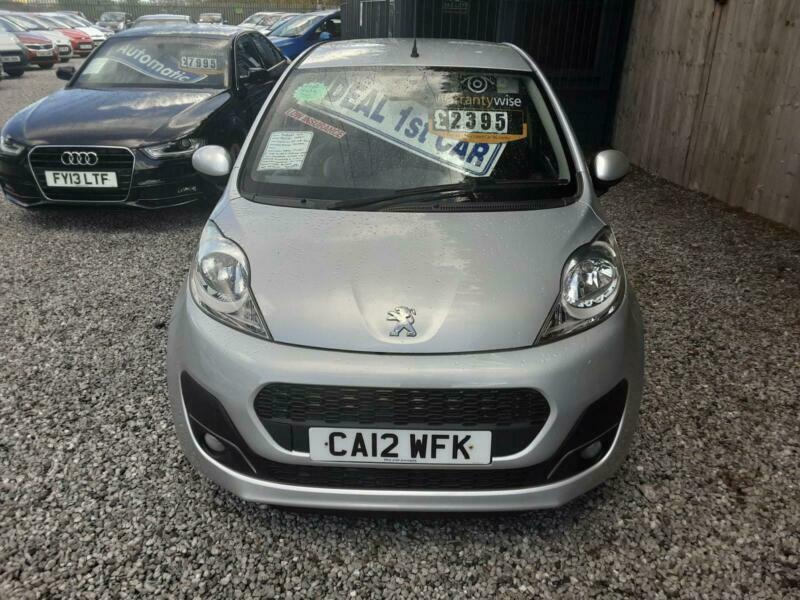 2012 Peugeot 107 ACTIVE 1000cc-75K-FREE ROAD TAX-2 OWNERS-LOW INSURANCE,,,,,,,,,