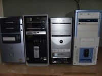 4 Desktop Computers  (Towers Only )