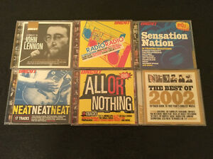 6 Uncut + 8 Under The Radar Magazine CD Samplers / Compilations