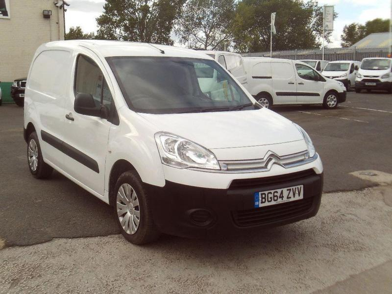 Citroen Berlingo 625 X 1.6HDI 90ps DIESEL MANUAL WHITE (2014)