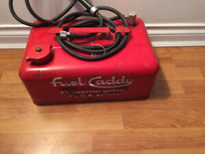 vintage outboard motor gas can