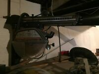 "12"" craftsman radial arm saw with extras"