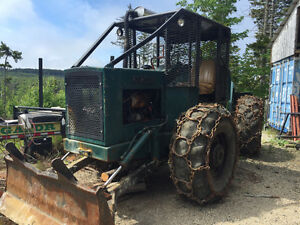 Franklin 130 cable skidder. Ready for work.