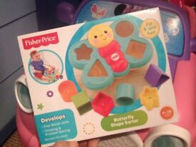 Butterfly shape sorter *brand new*