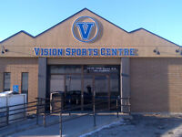 Gym Rentals and Court Times Vision Sports Centre