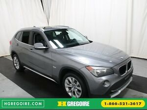 2012 BMW X1 28i A/C CUIR TOIT PANO MAGS