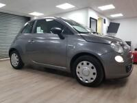 Fiat 500 1.2 POP GREY £30 ROAD TAX WARRANTY 12 MONTHS MOT FULL SERVICE HISTORY