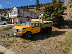 1996 Ford F450 Super Duty Dump Truck For Sale