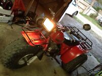 1982 one owner honda big red 200e