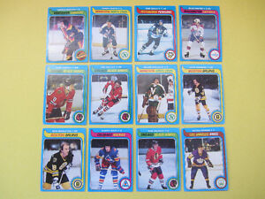 46 1979-80 TOPPS hockey cards: Bobby Smith & Ryan Walter RCs